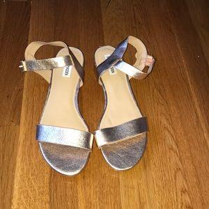 Rose Gold steve madden sandals